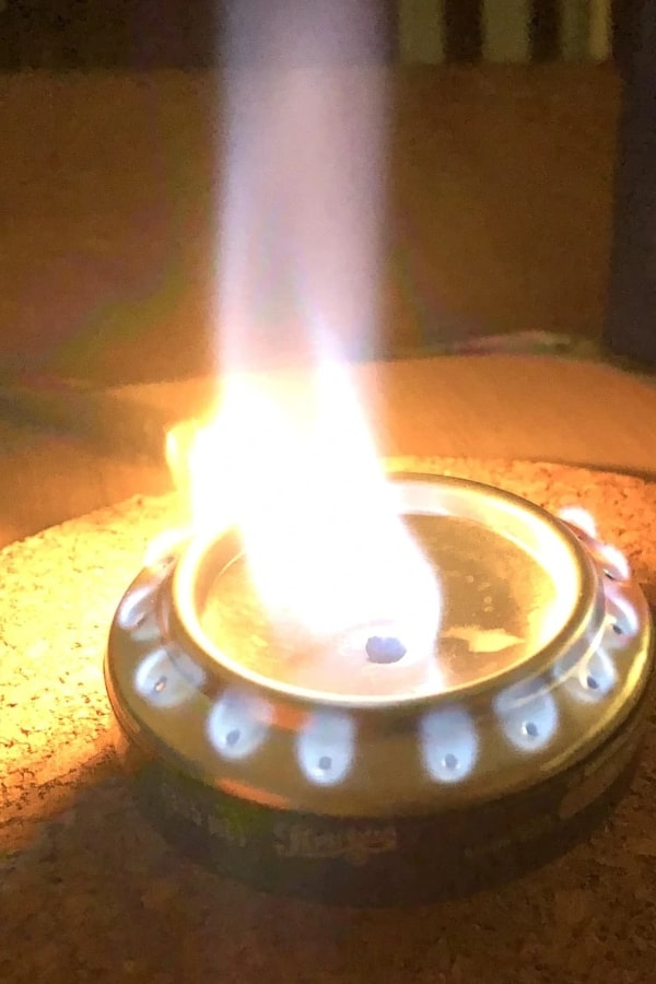 DIY Alcohol Stove for Emergency Kit