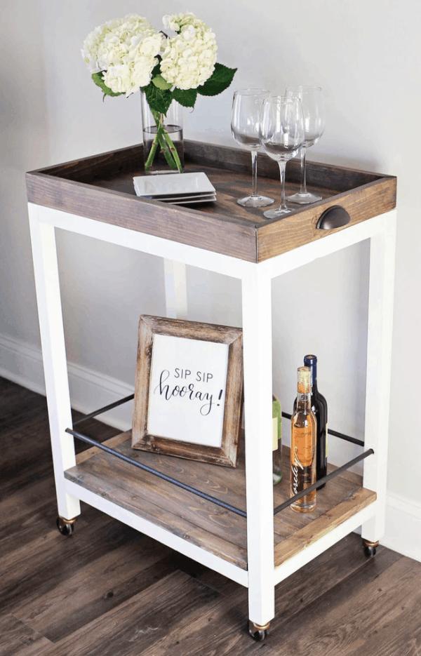 DIY Bar Cart from Handmade Haven