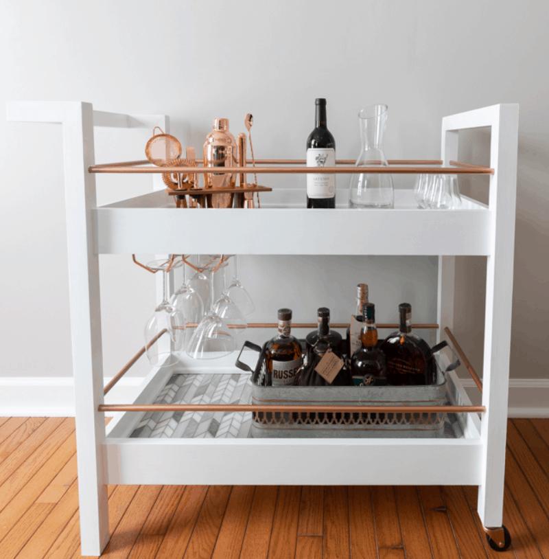 DIY Bar Cart from Handmade Weekly