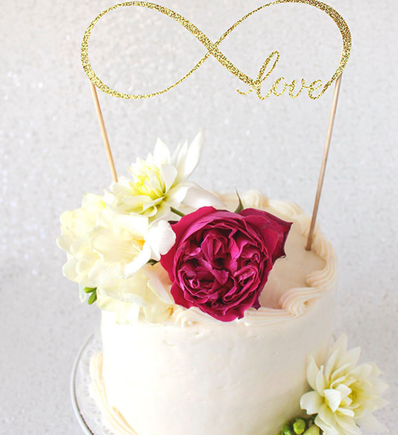 DIY Cake Topper with Cricut
