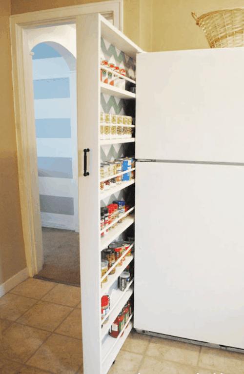 DIY Canned Food Organizer Tutorial