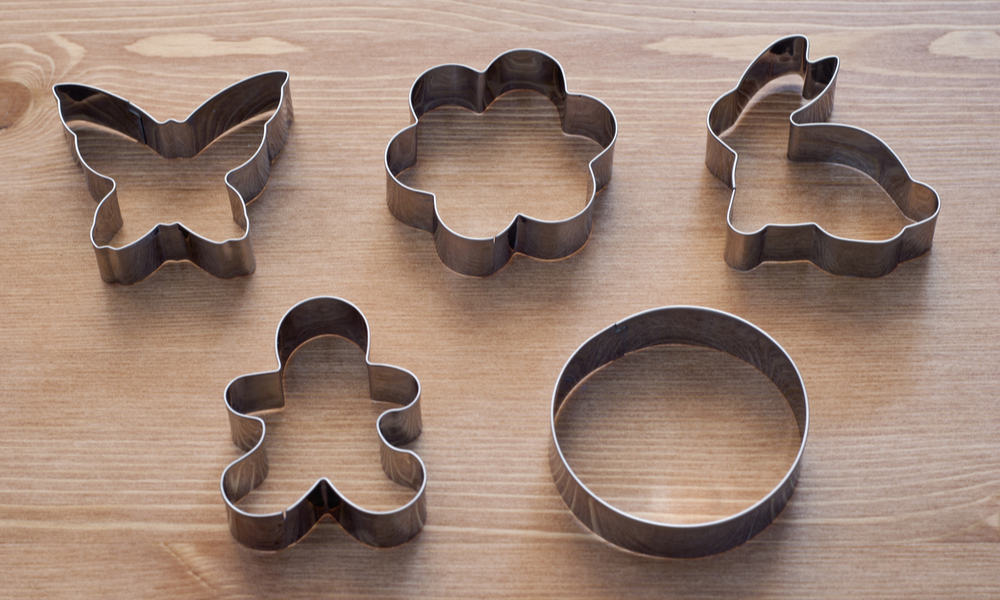 DIY Cookie Cutter and Cactus Cookies