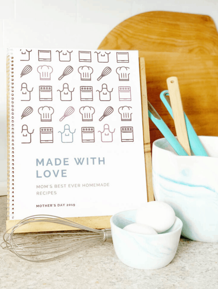 DIY Family Recipe Book with Free Template