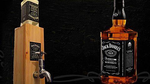 DIY Jack Daniels Dispenser