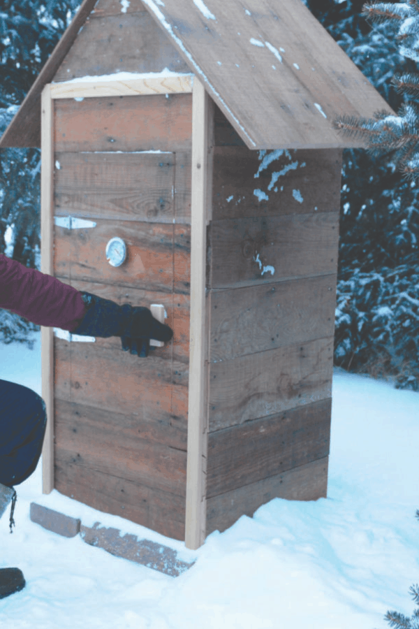 DIY Smokehouse from BC Outdoors