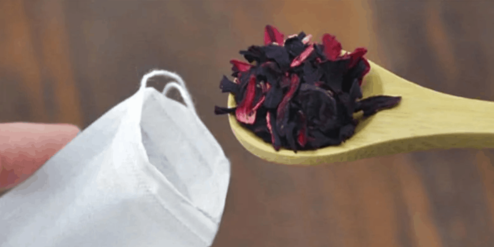 DIY Tea Bags Cheap and Easy Homemade Tea Pouches