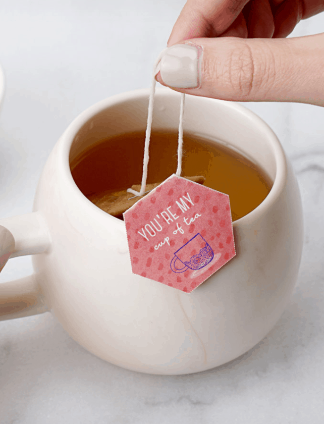 DIY Tea Bags with Printable Tags