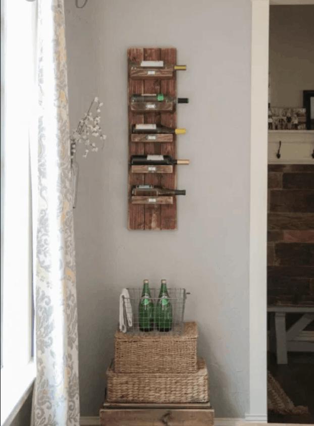 DIY Wine Rack – Shanty 2 Chic