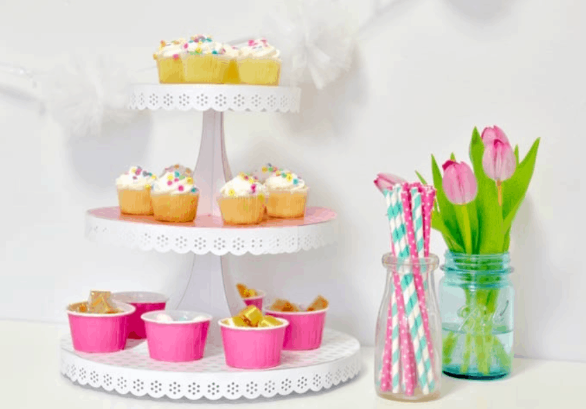 Easy Cupcake Stand for your Next Soirée
