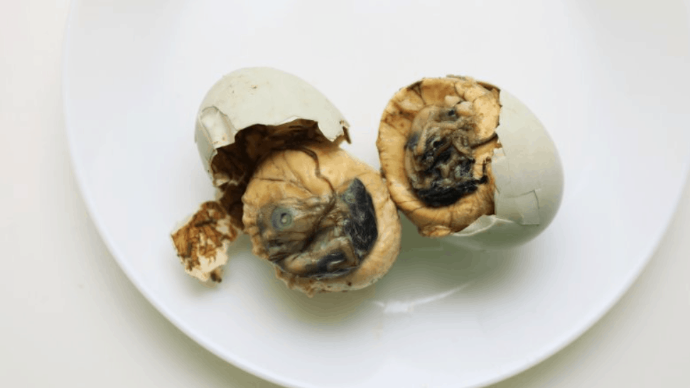 Filipino Street Food Balut