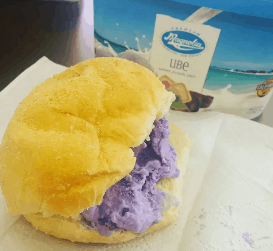 Filipino Street Food Ice Cream Sandwich
