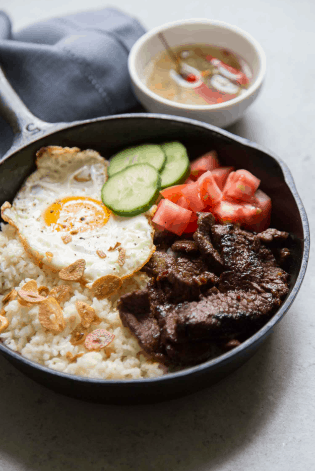 Filipino Street Food Tapsilog