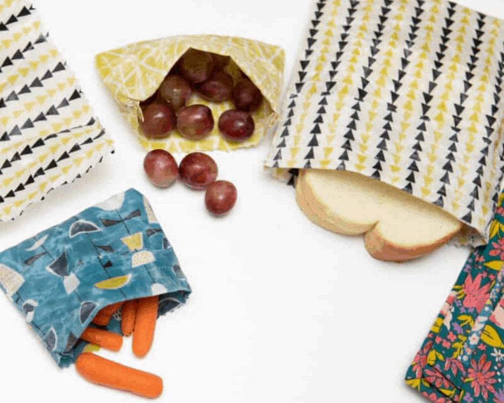 Going Green How to make reusable snack bags