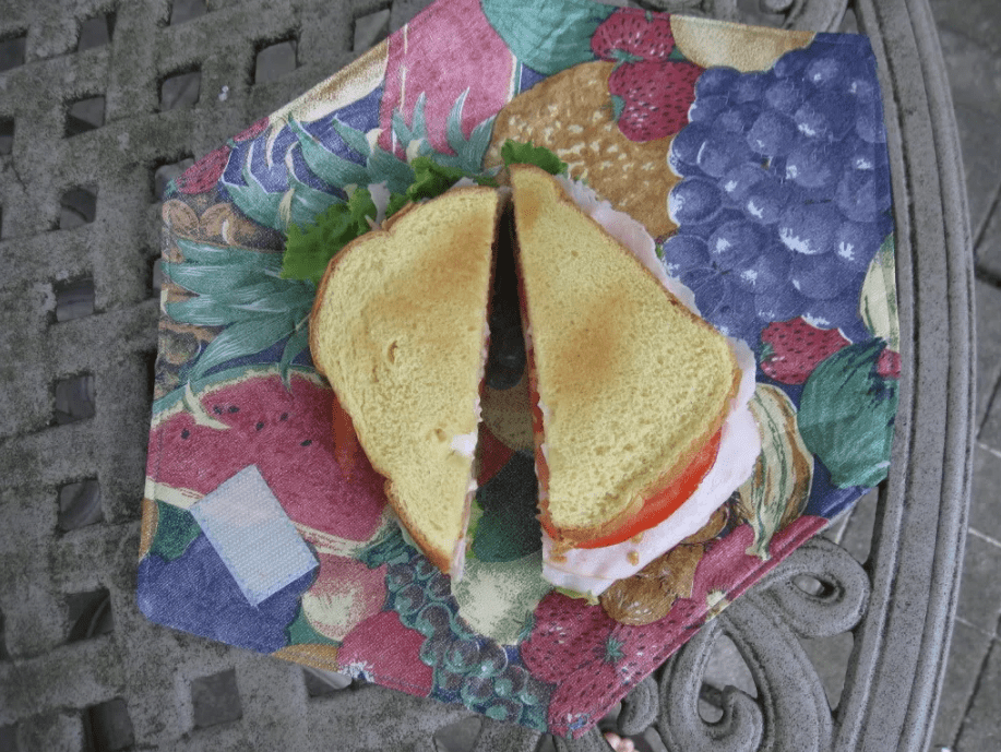 Grow and Make! A Reusable Sandwich Wrap