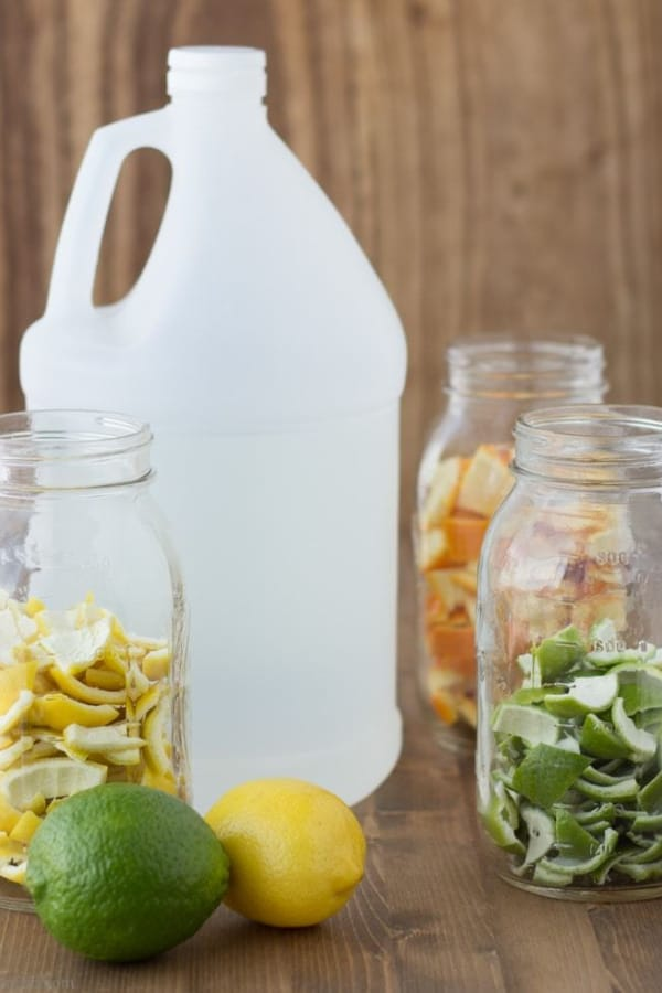 HOW TO MAKE SCENTED VINEGAR FOR CLEANING