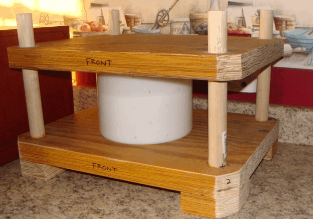 Homemade Cheese Press