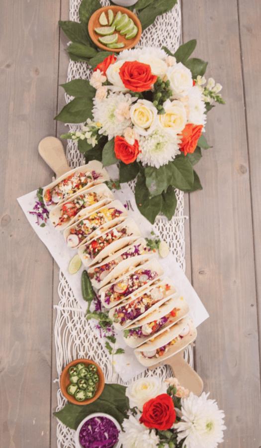 Homemade Taco Board