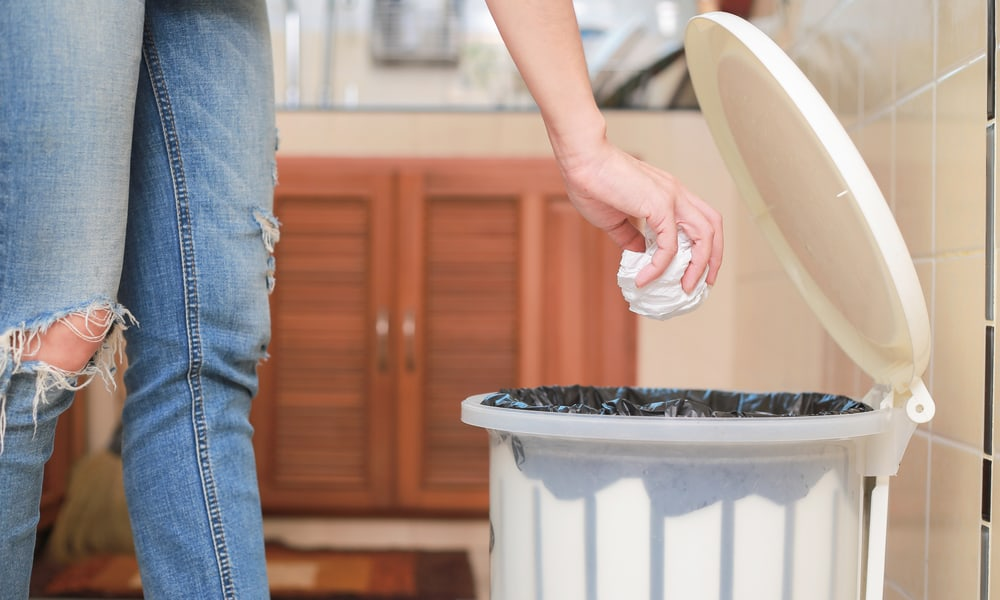 Homemade Trash Can Plans