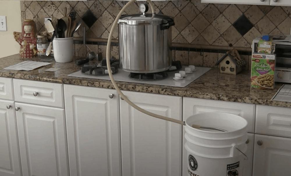 Homemade Water Distiller Built in Less Than an Hour