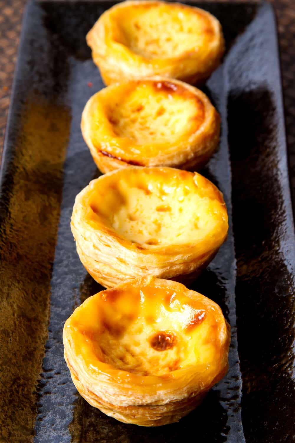 Hong Kong Street Food Egg Tarts