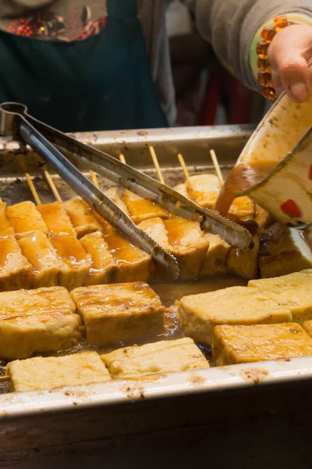 Hong Kong Street Food Stinky Tofu