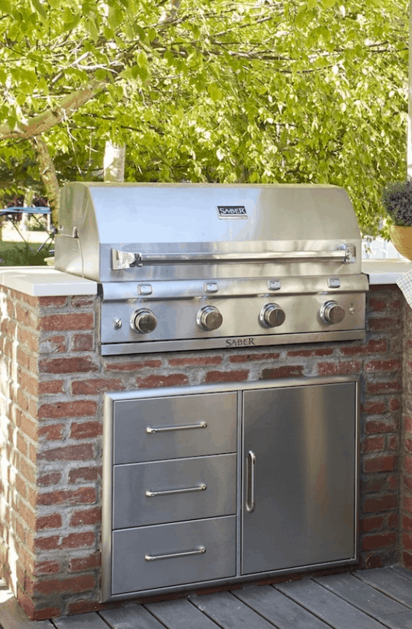 How We DIYed our Built-In Grill