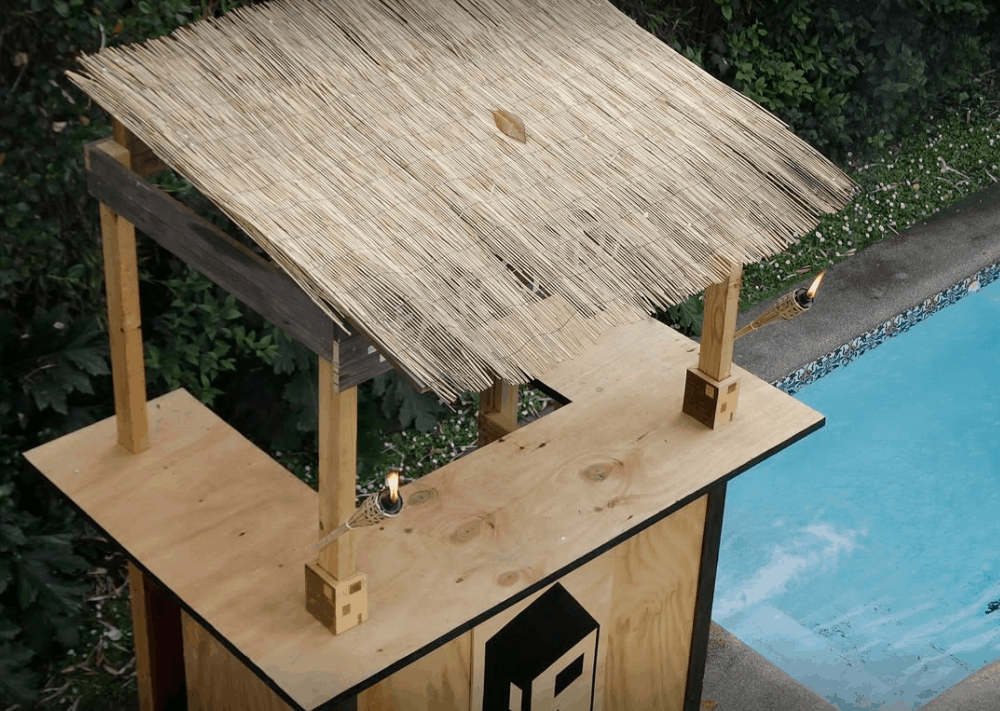 How to Build a Tiki Bar in 18 Easy-to-Follow Steps