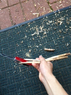 How to Make Free Chopsticks Out of Sticks