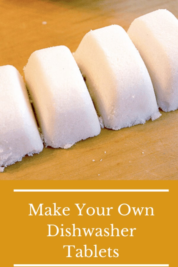 How to Make Your Own Dishwasher Detergent Cubes