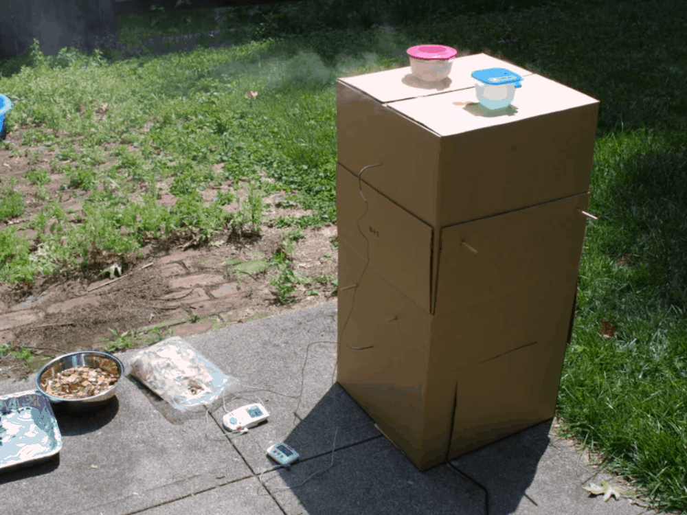 How to Make a Cardboard Smoker