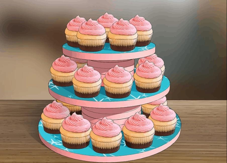 How to Make a Cupcake Stand