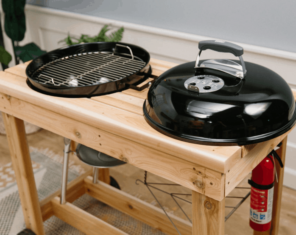 How to Make a DIY Grill Station