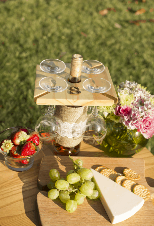 How to Make a Wine Glass Holder
