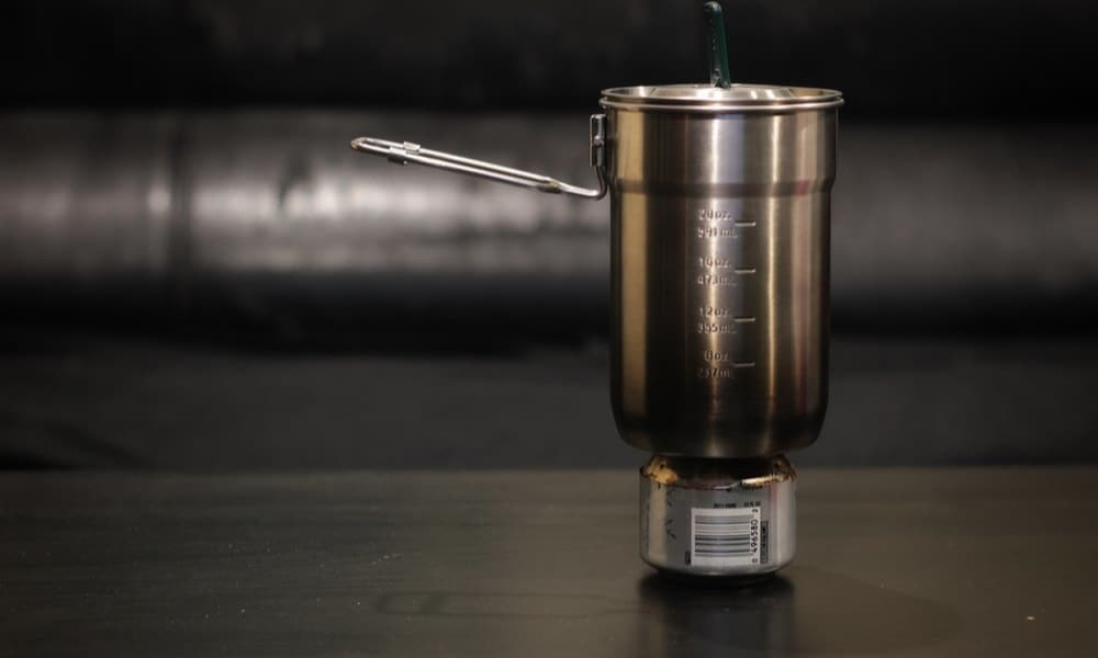 How to Make an Alcohol Stove out of an Aluminum Can