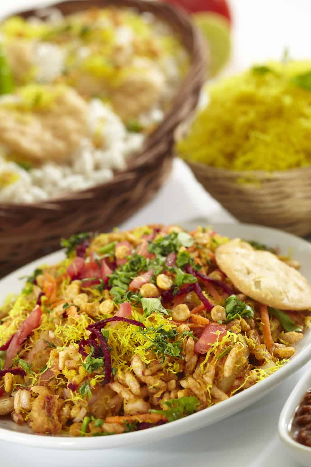 Indian Street Food Bhel Puri