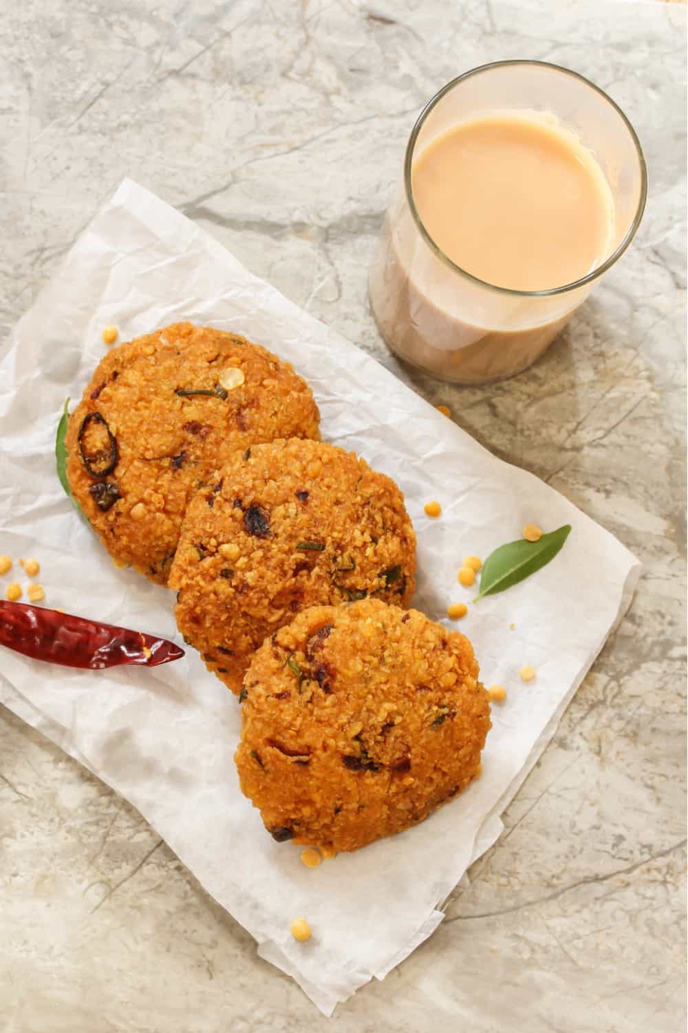 Indian Street Food Dal Vada