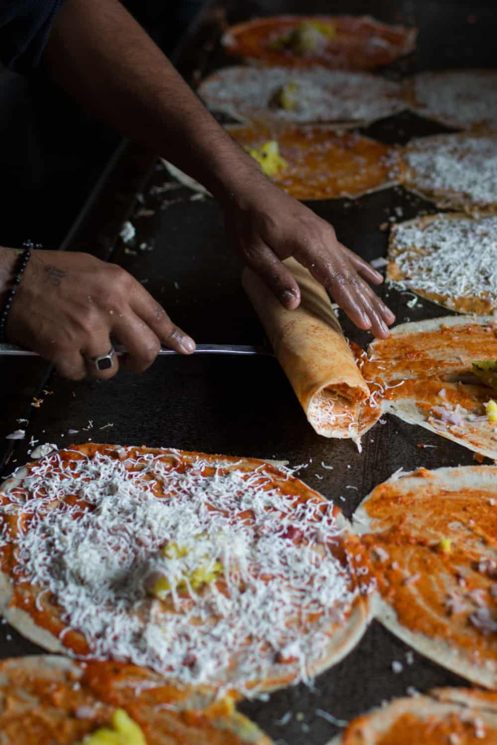 Indian Street Food Dosa