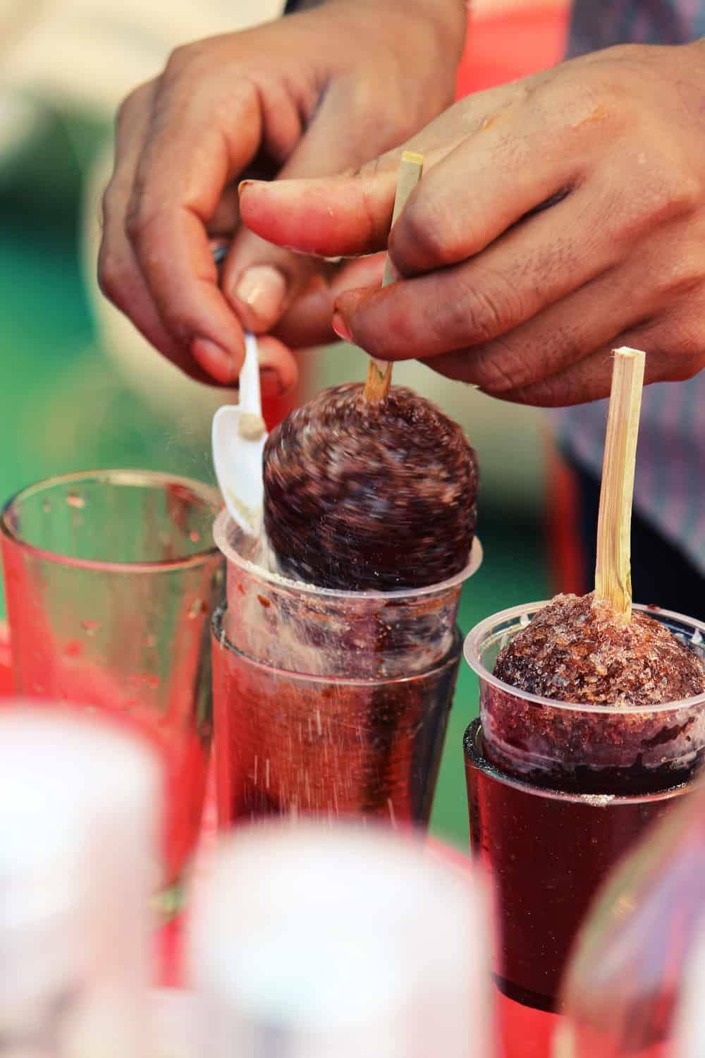 Indian Street Food Ice Gola