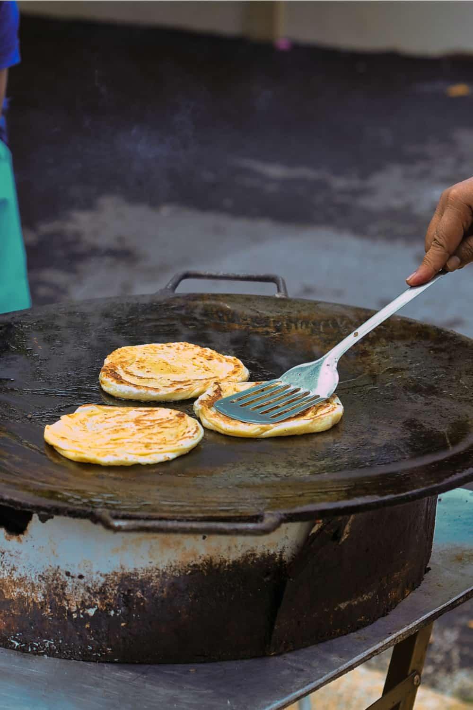 Indian Street Food Roti