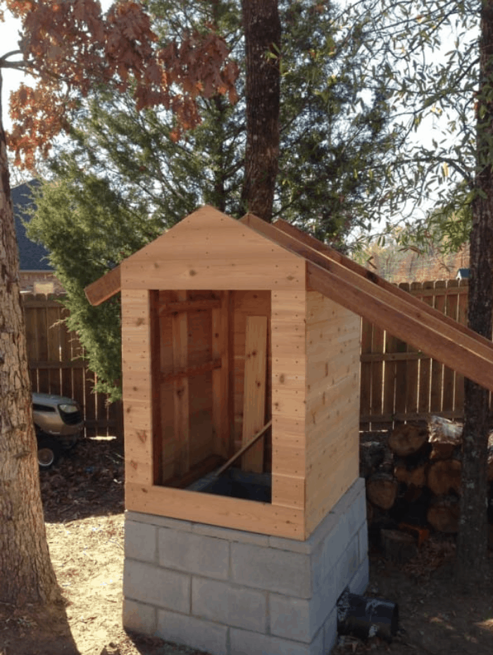 Learn How to Build a Smokehouse