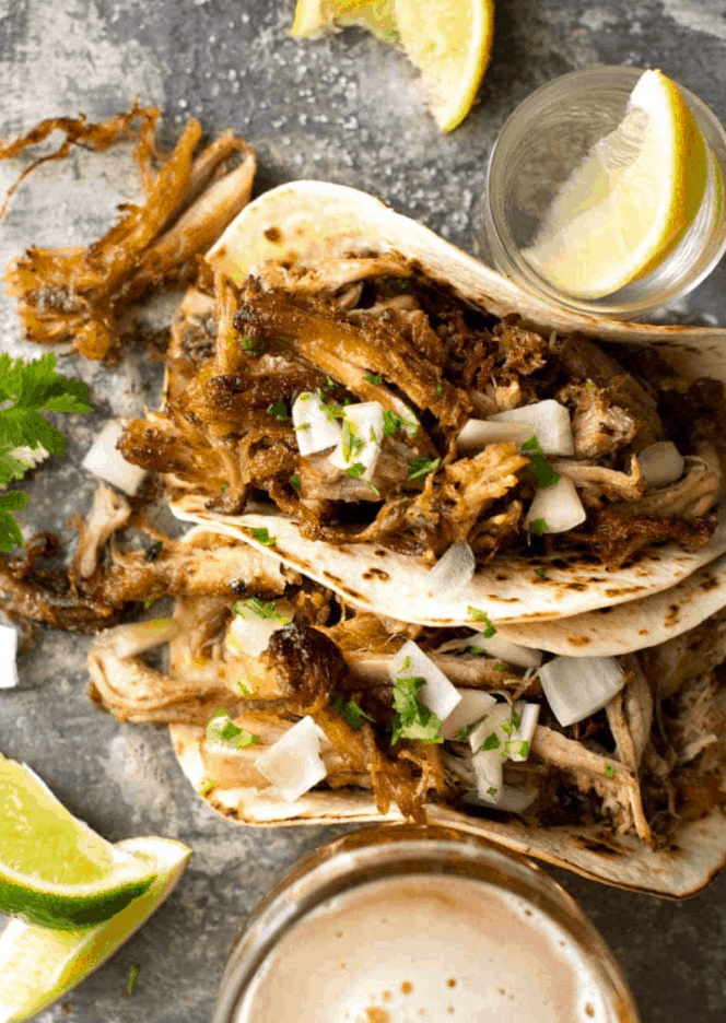 Mexican Street Food Carnitas