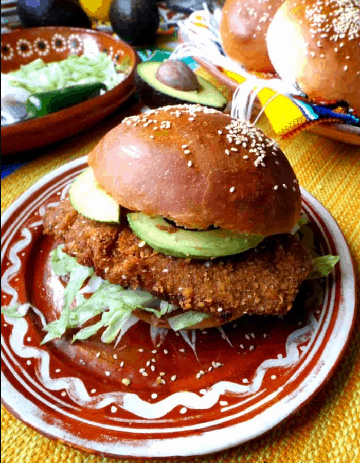 Mexican Street Food Cemitas