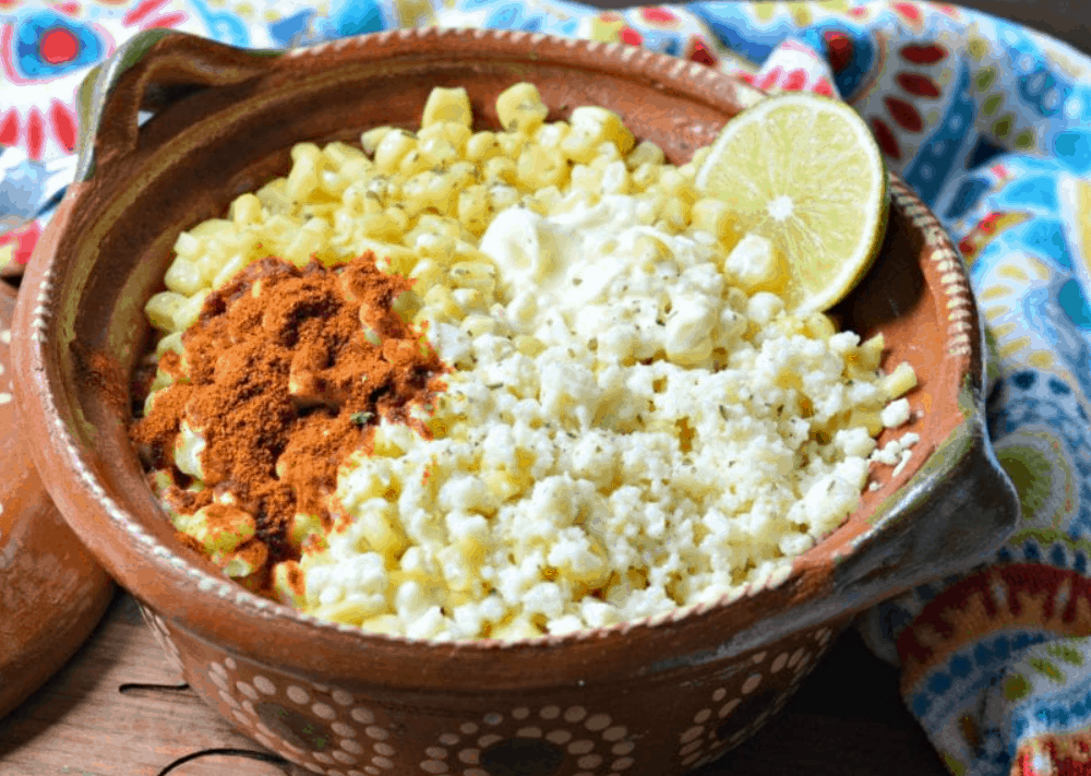Mexican Street Food Esquites
