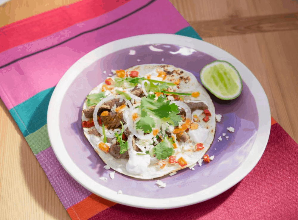 Mexican Street Food Fajitas