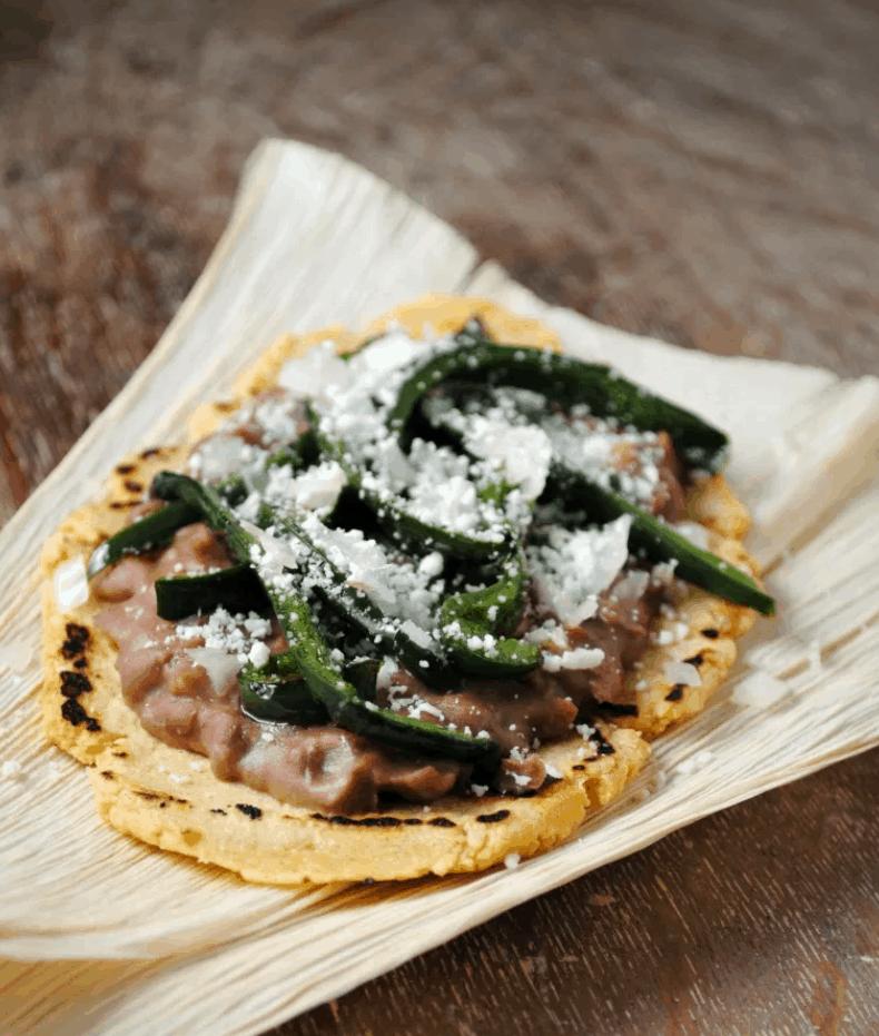 Mexican Street Food Huaraches