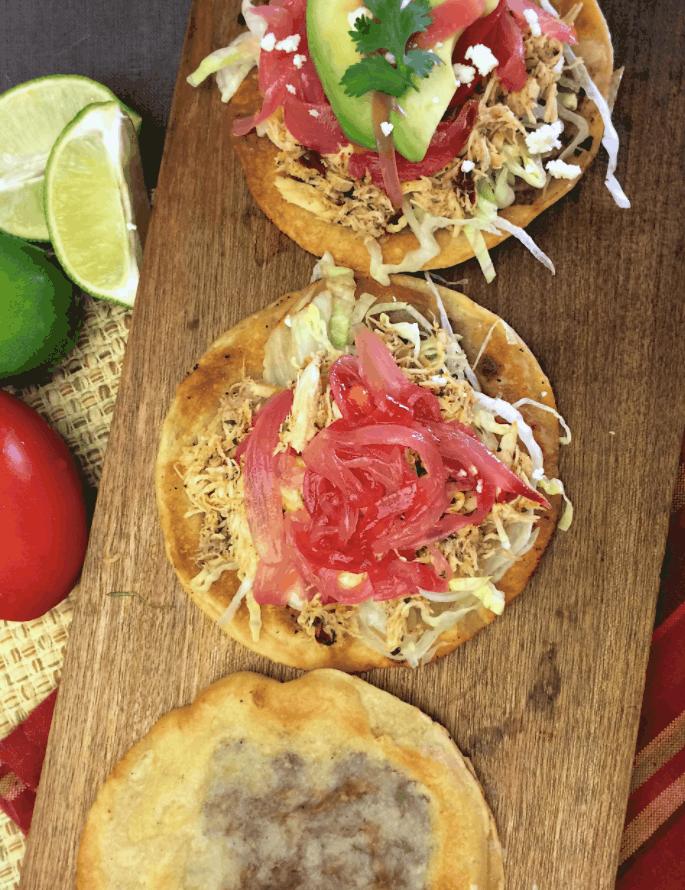 Mexican Street Food Panuchos