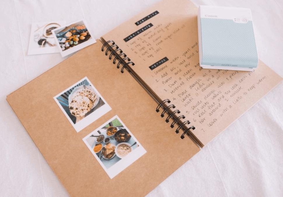 Mother's Day DIY Idea A Photo Recipe Book