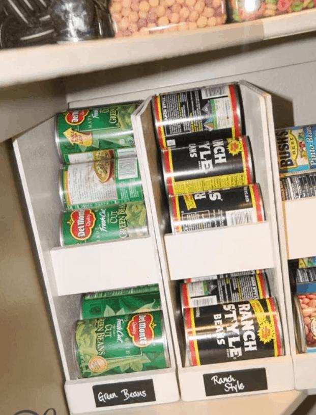 PANTRY IDEAS – DIY CANNED FOOD STORAGE