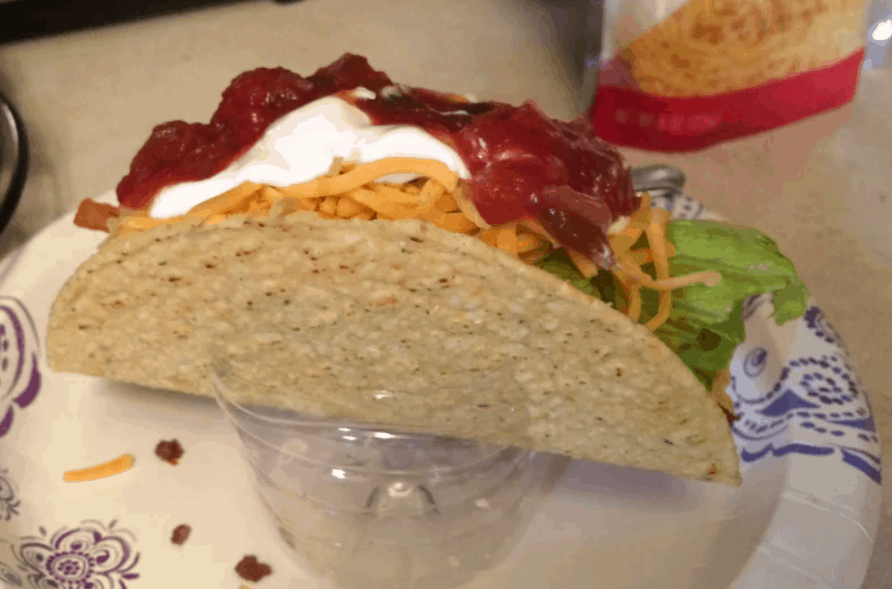 Recyclable Taco Shell Holder