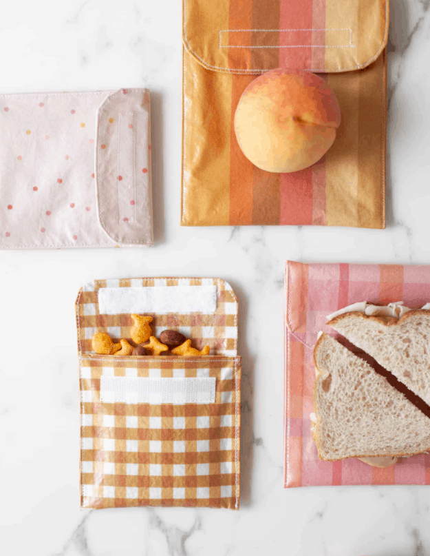 Reusable Sandwich Bags and Snack Bags